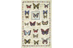 Butterflies French tea towels and kitchen linen by Beauvillé