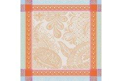 Isaphire iridescent French luxury napkins by Garnier-Thiebaut