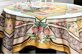 Versailles Yellow tablecloth