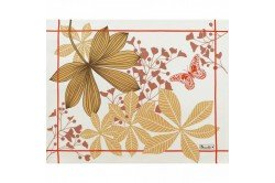 Great Palms Beige French luxury Placemats and table linens by Beauvillé