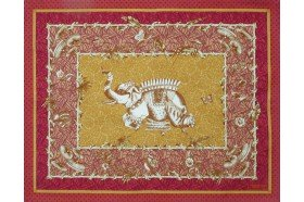 Pondichery French placemats by Beauvillé