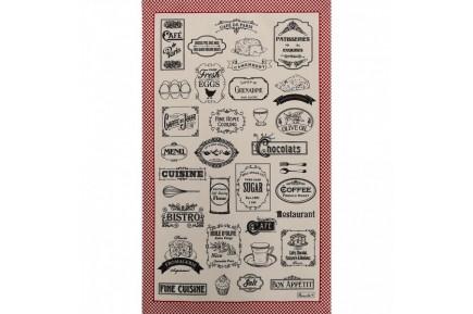 Bon Apetit French Tea Towel Kitchen linen by Beauville