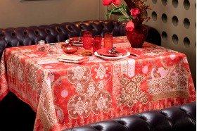 Rialto Red Tablecloth