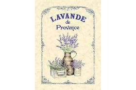 Provence Lavender French Kitchen Towel made in France