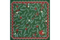 Gingerbread Tree Sapin d'Epices luxury Christmas Napkin by Beauvillé