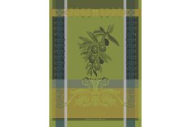 Olive Kitchen Towel by Garnier-Thiebaut