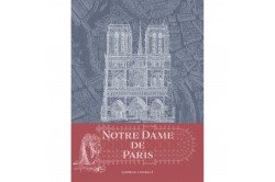 Notre Dame Cathedral Paris Kitchen towel by Garnier-Thiebaut