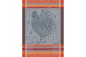 Rooster Country French Kitchen Towel by Garnier-Thiebaut