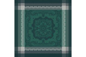 Fontainebleau Green Napkins by Garnier-Thiebaut