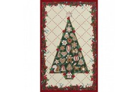 Christmas Tree Tea Towel luxxury kitchen linens by Beauvillé