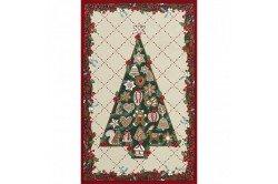Christmas Tree Tea Towel luxxury kitchen linens by Beauvillé