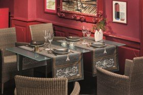 Voltaire luxury French tablecloths by Beauville