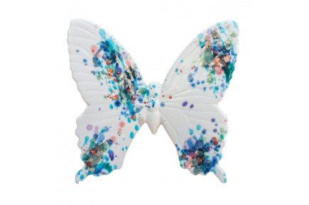 White Butterfly Provence Ceramic by Louis Sicard