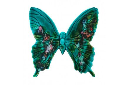 Emerald Butterfly Provence Ceramic by Louis Sicard