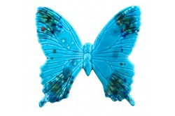 Turquoise Butterfly Provence Ceramic by Louis Sicard