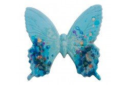 Blue Butterfly French Provencal Ceramic handmade by Louis Sicard