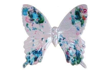 Platine Butterfly Provence Ceramic made in France by Louis Sicard
