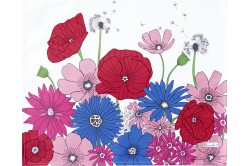 Summer Flowers Fleurs des Champs French placemats by Beauville