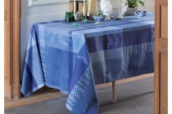 Mille Matiere Coated Tablecloth French tablecloth by Garnier Thiebaut made in France