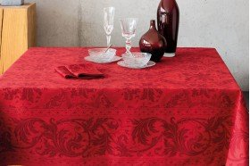 Topkapi Red Tablecloth