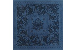Topkapi Blue Napkin French luxury napkins made in France by Beauville
