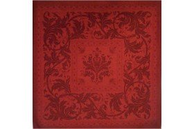 Topkapi Red French luxury Napkin made in France by Beauville