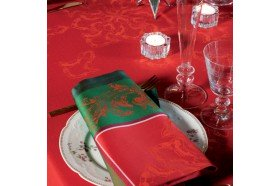 Noel Baroque Christmas Napkins by Garnier-Thiebaut