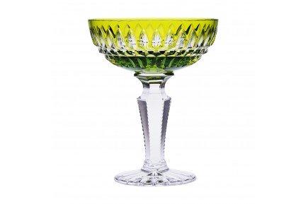 Seville Luxury French crystal glassware Light Green