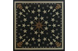 Christmas Fairyland Onyx luxury French Napkin by Beauville made in France