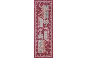 Rialto Plum French Table Runner by Beauville