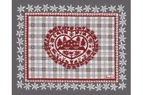 Cortina Winter Country French placemats by Beauville