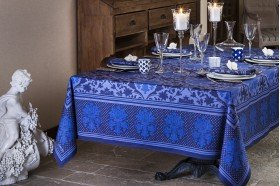 Toscane luxury French tablecloth by Beauville