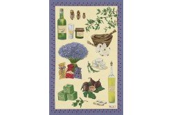 Provence Tea Towel French kitchen linens Beauville